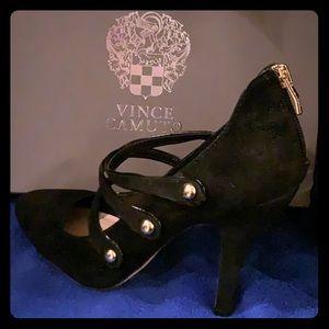 True Suede heels